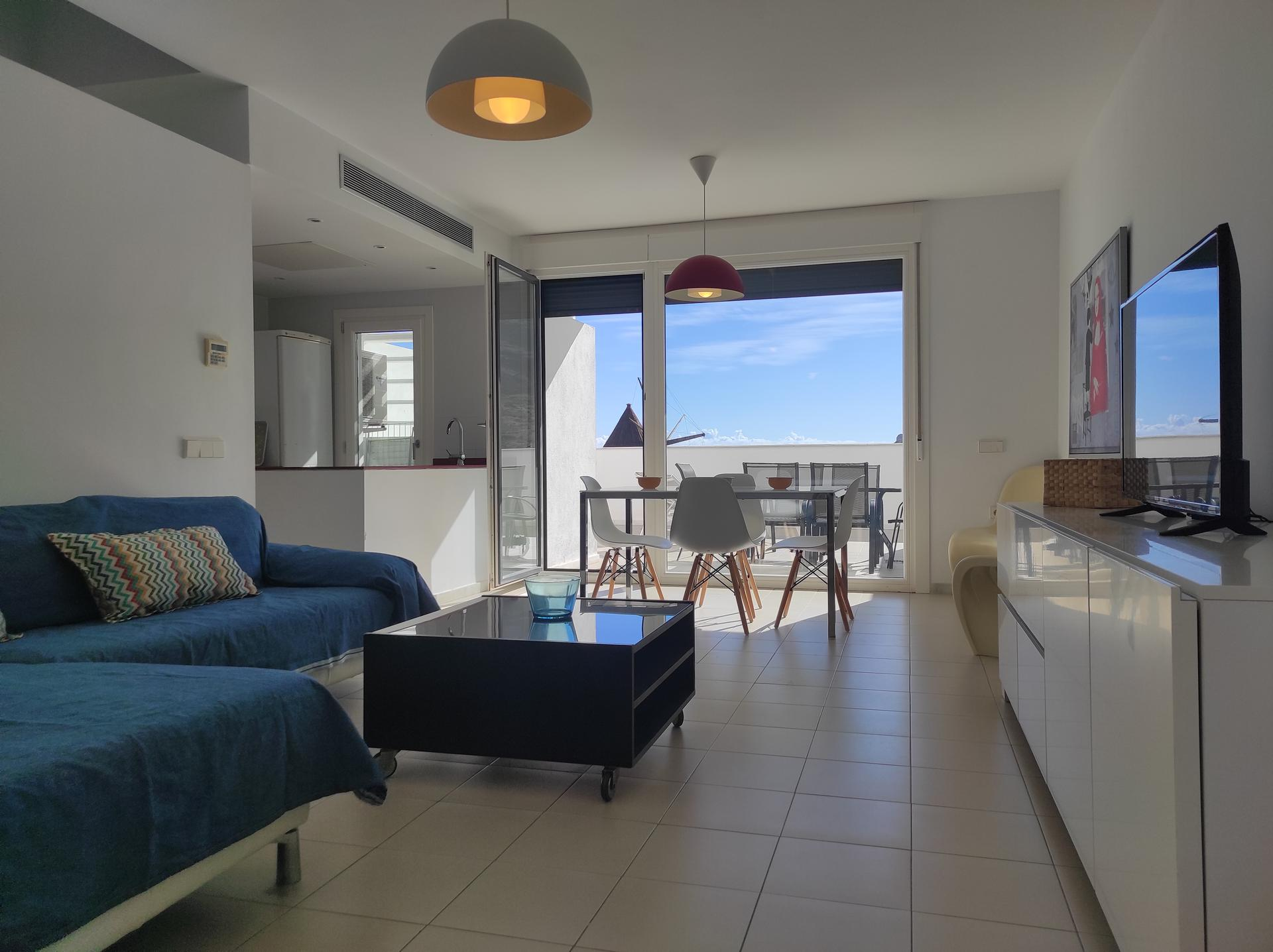 Apartamento -                                       Las Negras -                                       2 dormitorios -                                       4 ocupantes